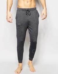 Зауженные штаны для бега с манжетами в стиле милитари Calvin Klein