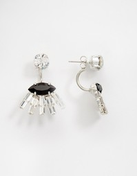Серьги с кристаллами Krystal Swarovski