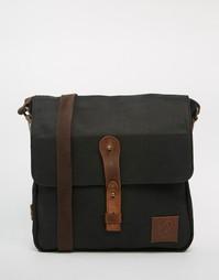 Парусиновая сумка для полетов Lyle & Scott - Черный