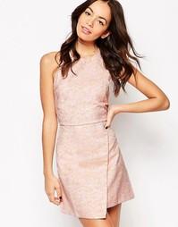 Жаккардовое платье Motel Albasouri - Розовый