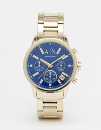 Часы с хронографом Armani Exchange Lady Banks AX4332 - Золотой