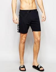 Трикотажные пляжные шорты Supremacy - Черный