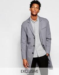 Легкое пальто Noak - Светло-серый