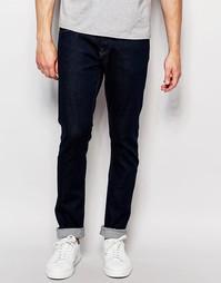 Прямые джинсы слим из селвидж‑денима Bethnals Joey - Синий