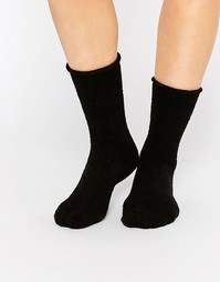 Флисовые носки Plush Rolled - Черный