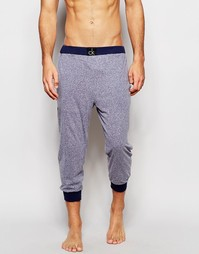 Мягкие спортивные штаны узкого кроя Calvin Klein - Синий