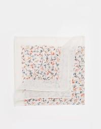 Платок для нагрудного кармана с цветочным принтом Paul Smith - Белый