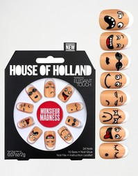 Накладные ногти House Of Holland By Elegant Touch - Monsieur Madness