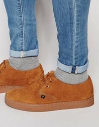 Замшевые ботинки чукка Farah Fame - Рыжий