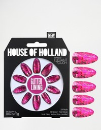 Накладные ногти House Of Holland By Elegant Touch - Glitter Lining
