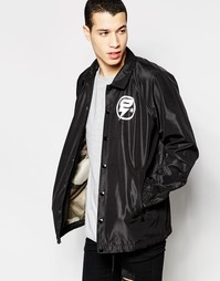 Черная куртка с логотипом на спине G-Star Hedrove - Черный