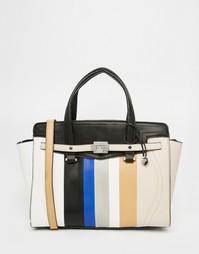 Большая сумка-тоут в полоску Fiorelli - Разноцветная полоска