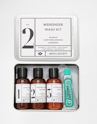Набор средств Weekender Wash Kit Men's Society - Мульти