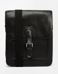 Кожаная сумка Ted Baker Paristo - Черный