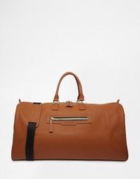 Кожаная сумка Smith And Canova - Рыжий