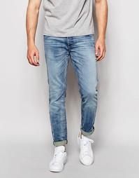 Выбеленные эластичные джинсы слим Jack & Jones Vintage