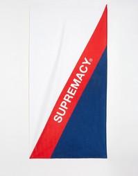 Пляжное полотенце Supremacy - Белый