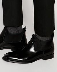 Лакированные кожаные ботинки челси ALDO Giraldi - Черный