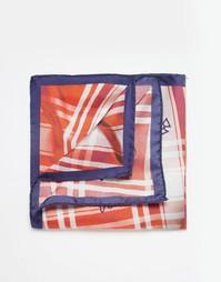 Платок для пиджака в клетку Vivienne Westwood - Оранжевый