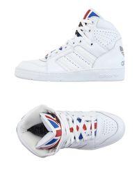 Высокие кеды и кроссовки Jeremy Scott Adidas