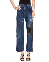 Джинсовые брюки-капри Erika Cavallini Semicouture