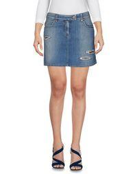 Джинсовая юбка Moschino Jeans