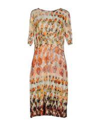 Платье до колена Peserico Gold