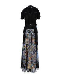 Длинное платье Sacai
