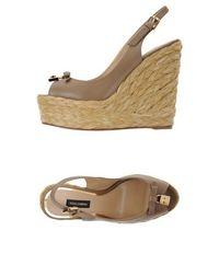 Эспадрильи Dolce &; Gabbana