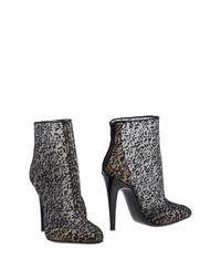 Черные Полусапоги и высокие ботинки Bottega Veneta