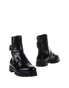 Черные Полусапоги и высокие ботинки AGL Attilio Giusti Leombruni