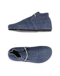 Синие Полусапоги и высокие ботинки Peter NON