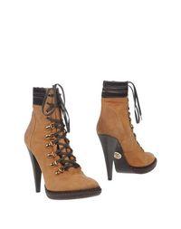 Коричневые Полусапоги и высокие ботинки Roberto Cavalli