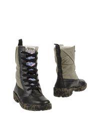 Зеленые Полусапоги и высокие ботинки Springa