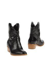 Черные Полусапоги и высокие ботинки Baldinini Trend