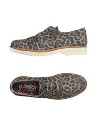 Обувь на шнурках Studs WAR