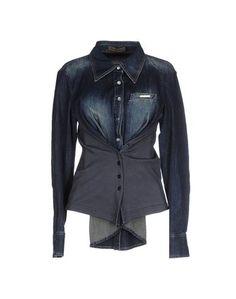 Джинсовая рубашка Mariagrazia Panizzi