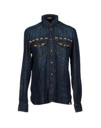 Джинсовая рубашка Galliano