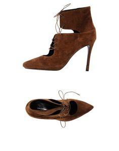 Коричневые Полусапоги и высокие ботинки Spaziomoda