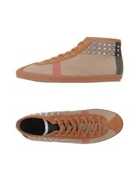 Высокие кеды и кроссовки Burberry London