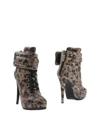 Бежевые Полусапоги и высокие ботинки Blumarine