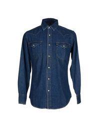 Джинсовая рубашка BLU