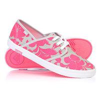 Кеды кроссовки низкие женские Roxy Hermosa Ii Pink