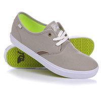 Кеды кроссовки низкие Quiksilver Shorebreak Tan - Solid