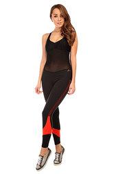 Комбинезон для фитнеса женский CajuBrasil New Zealand Overall Black/Red