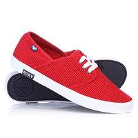 Кеды кроссовки женские Roxy Hermosa Ii Red