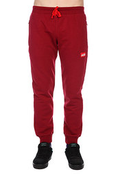Штаны прямые Skills Easy Pants Burgundy
