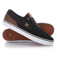Кеды кроссовки низкие DC Switch Black/Brown/White
