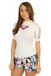 Гидрофутболка женская Roxy Wholeheartss White