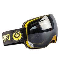 Маска для сноуборда Dragon X1s Gigi Signature Dark Smoke Yellow Red Ion